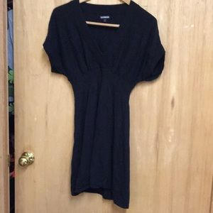 Express  sweater tunic or dress  (black)